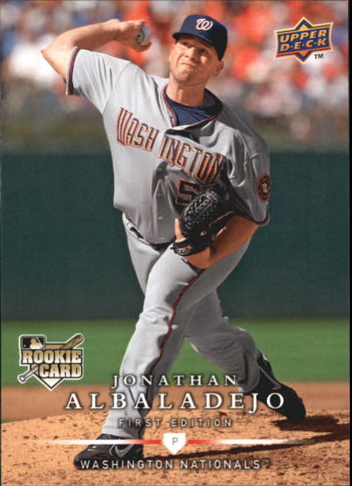 2008 Upper Deck First Edition #251 Jonathan Albaladejo RC