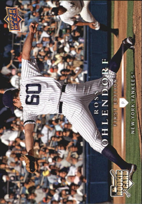2008 Upper Deck First Edition #284 Ross Ohlendorf RC