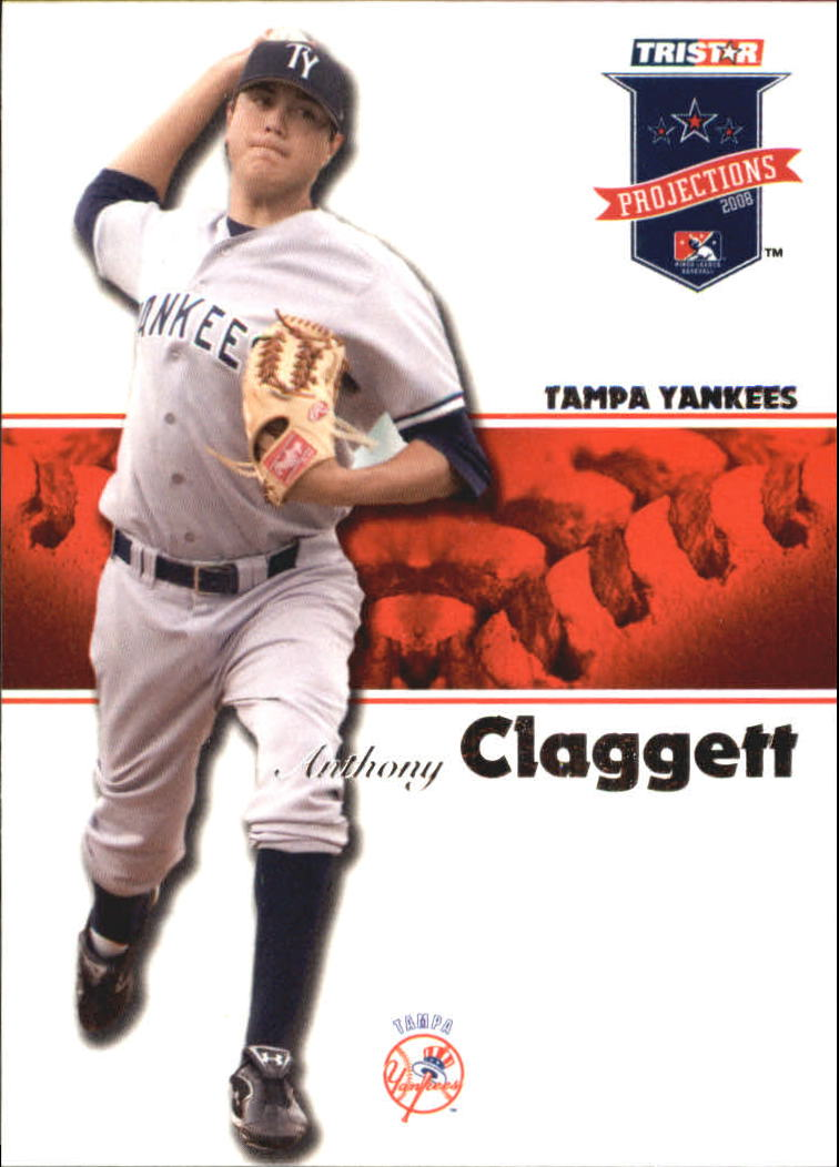 2008 TRISTAR PROjections #7 Anthony Claggett