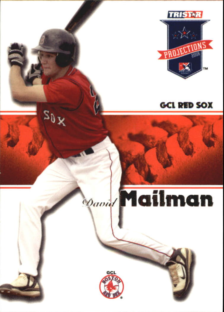 2008 TRISTAR PROjections #16 David Mailman