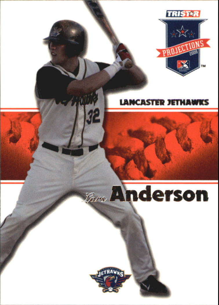 2008 TRISTAR PROjections #18 Lars Anderson