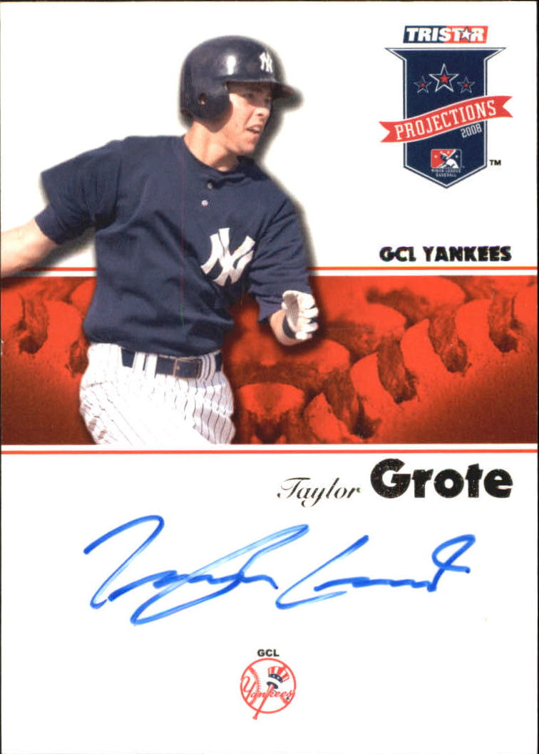 2008 TRISTAR PROjections Autographs #6 Taylor Grote