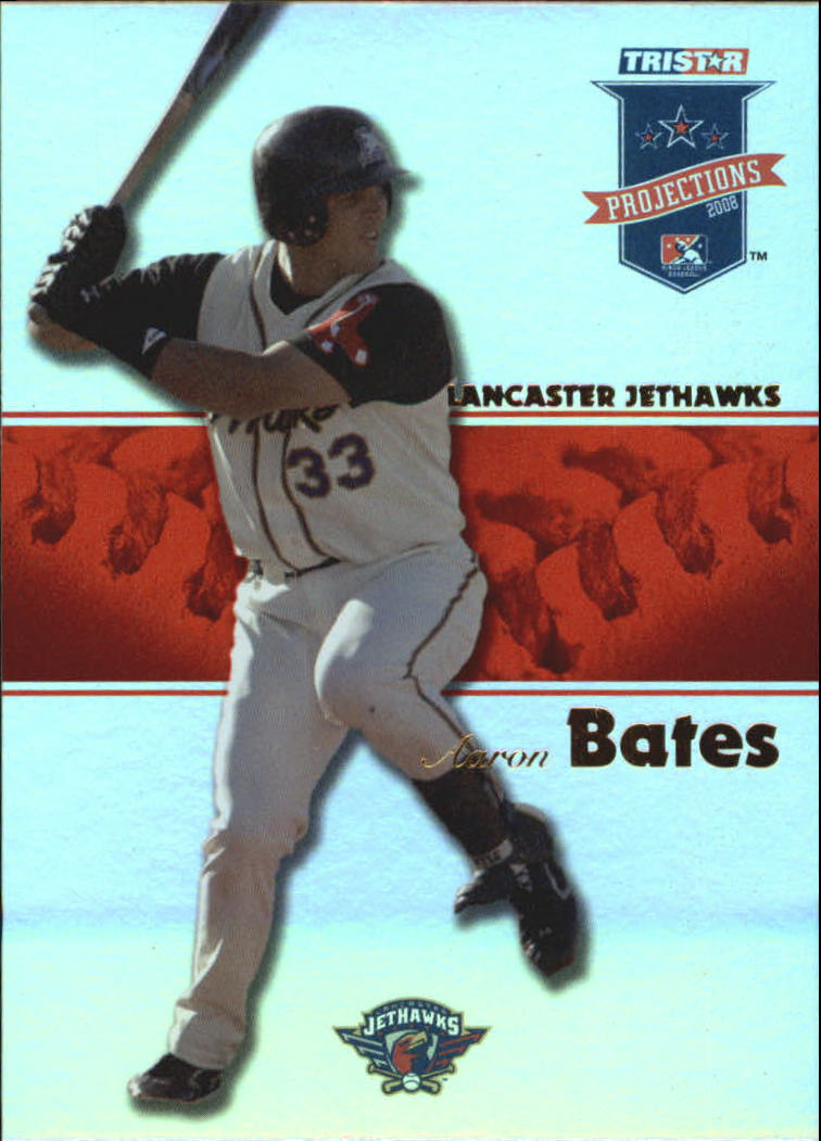 2008 TRISTAR PROjections Autographs Reflectives #42 Aaron Bates