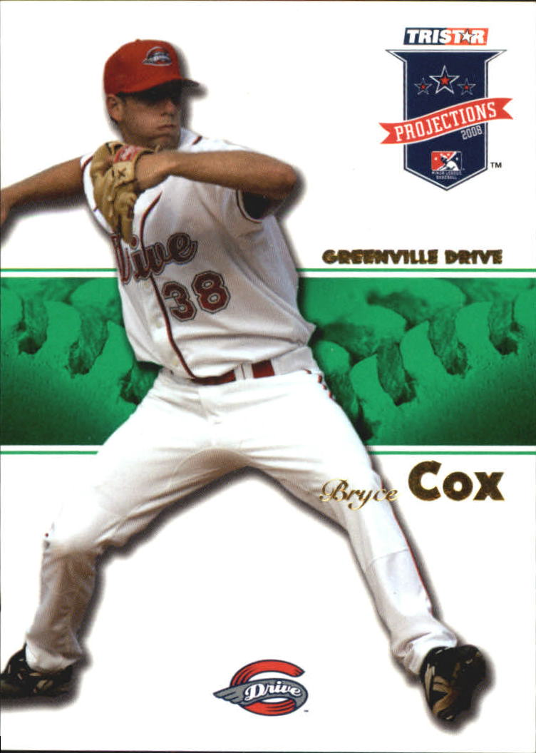 2008 TRISTAR PROjections Autographs Green #25 Bryce Cox