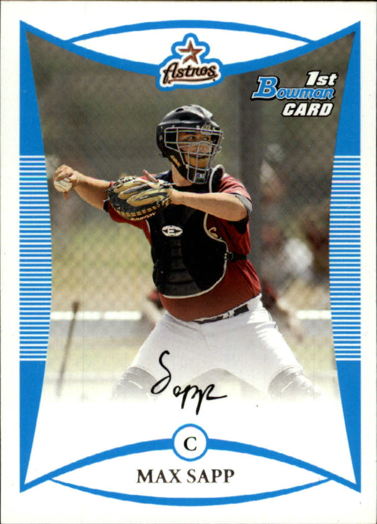 2008 Bowman Prospects #BP1 Max Sapp