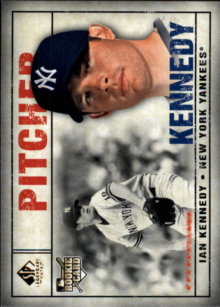 2008 SP Legendary Cuts #88 Ian Kennedy RC