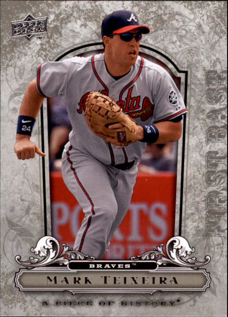 2008 UD A Piece of History #5 Mark Teixeira