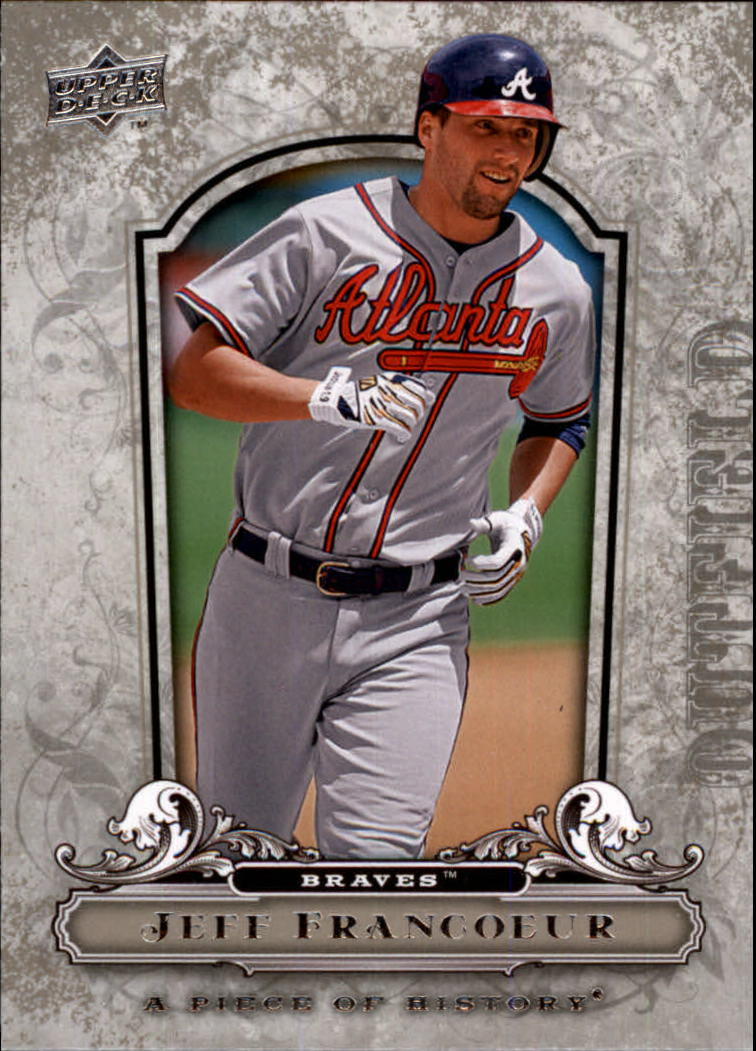 2008 UD A Piece of History #6 Jeff Francoeur