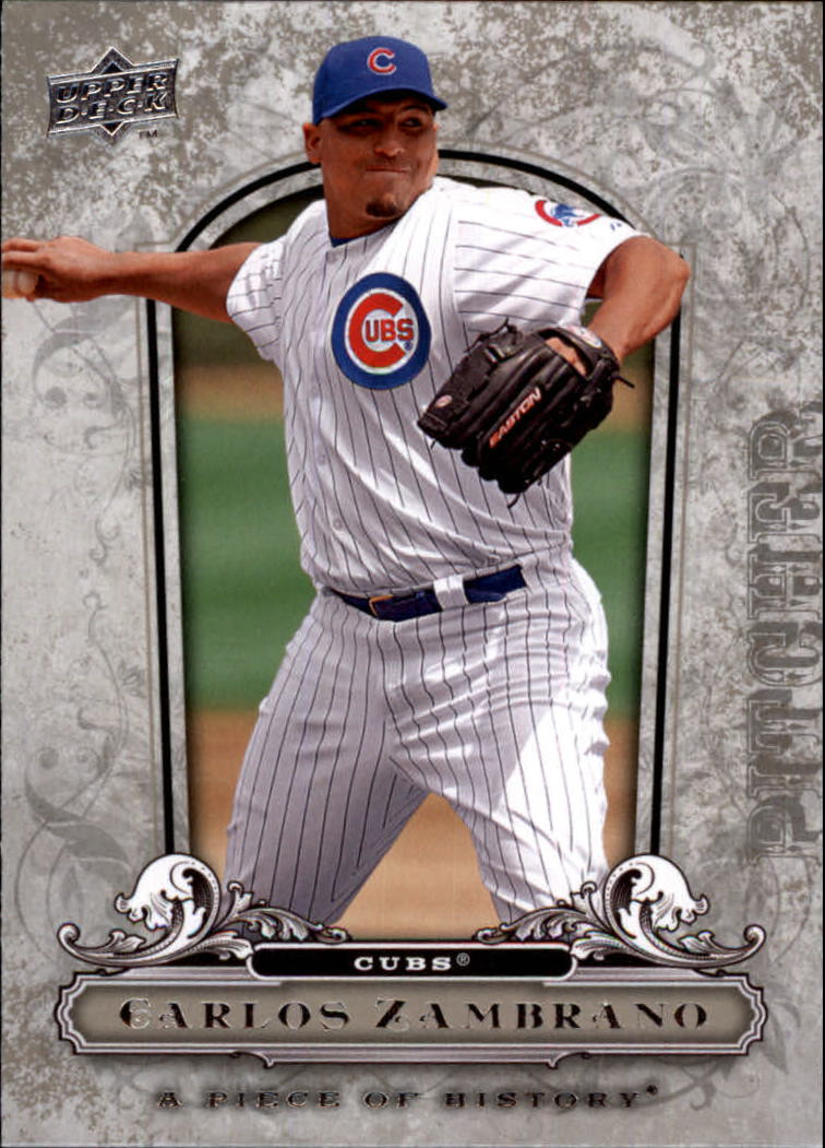 2008 UD A Piece of History #23 Carlos Zambrano
