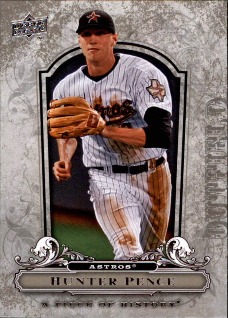 2008 UD A Piece of History #43 Hunter Pence