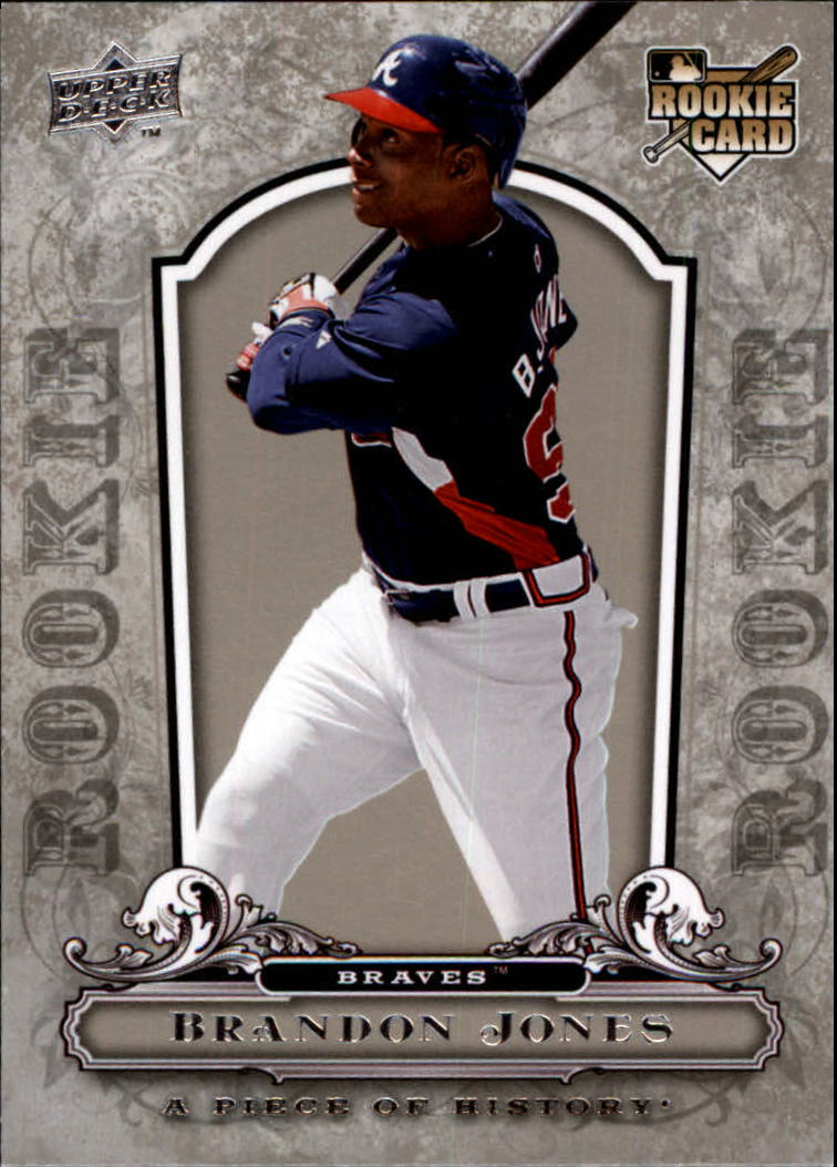 2008 UD A Piece of History #104 Brandon Jones RC