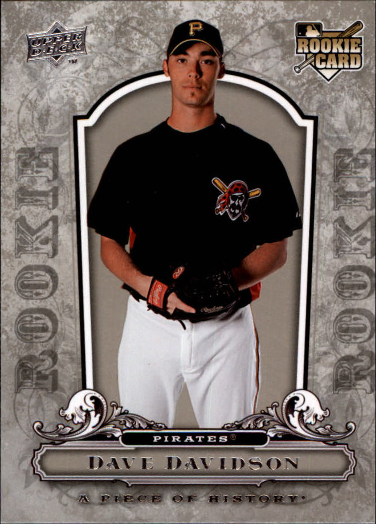 2008 UD A Piece of History #135 Dave Davidson RC