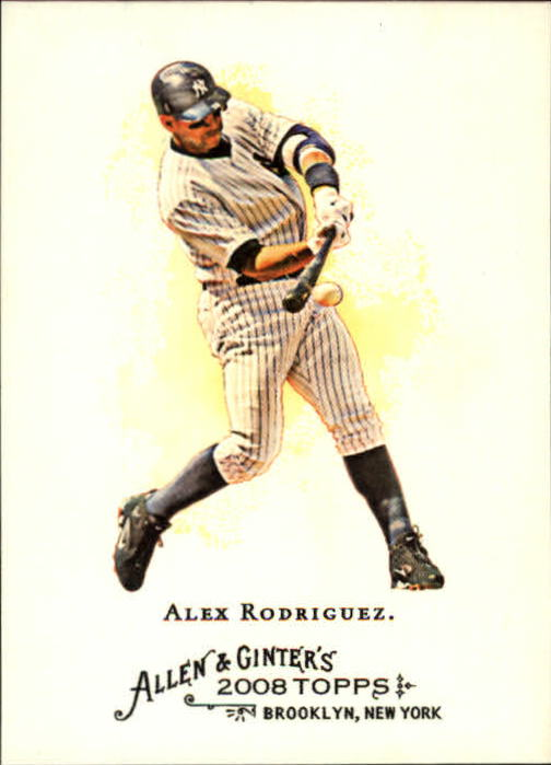 2008 Topps Allen and Ginter #1 Alex Rodriguez