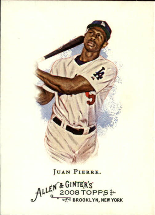 2008 Topps Allen and Ginter #2 Juan Pierre