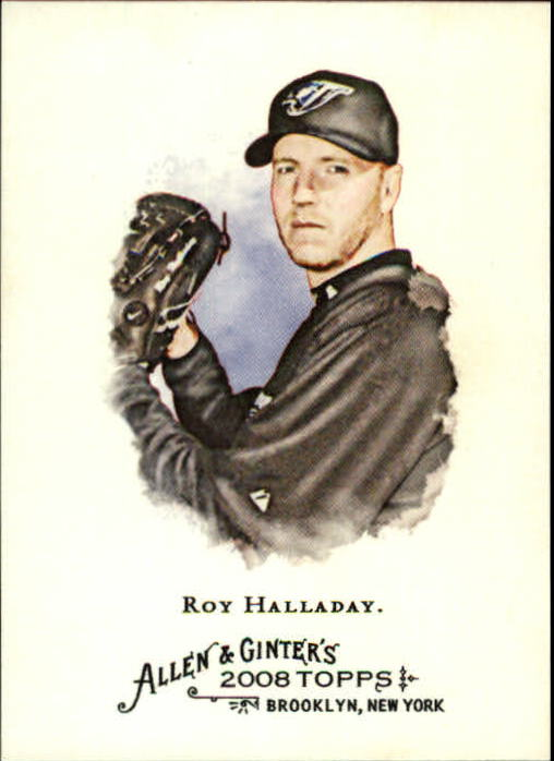2008 Topps Allen and Ginter #4 Roy Halladay