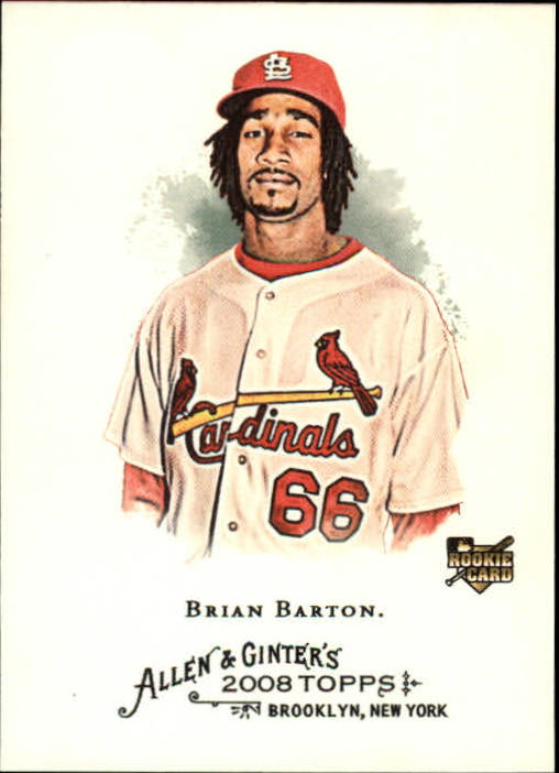 2008 Topps Allen and Ginter #6 Brian Barton RC