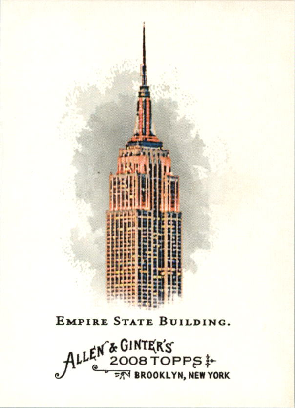 2008 Topps Allen and Ginter #29 Empire State Building