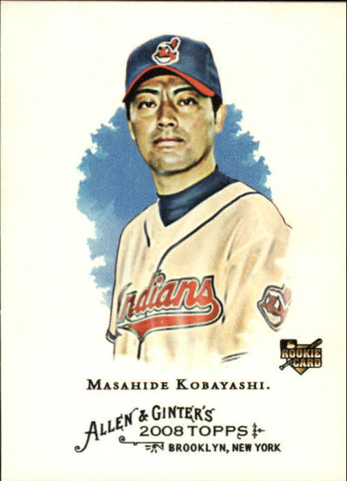 2008 Topps Allen and Ginter #83 Masahide Kobayashi RC