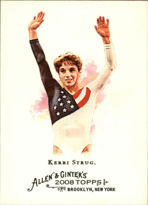 2008 Topps Allen and Ginter #103 Kerri Strug
