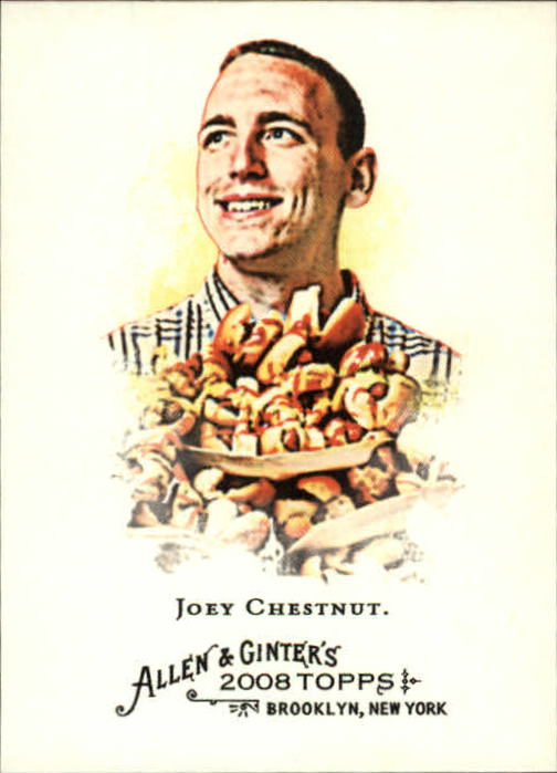 2008 Topps Allen and Ginter #109 Joey Chestnut