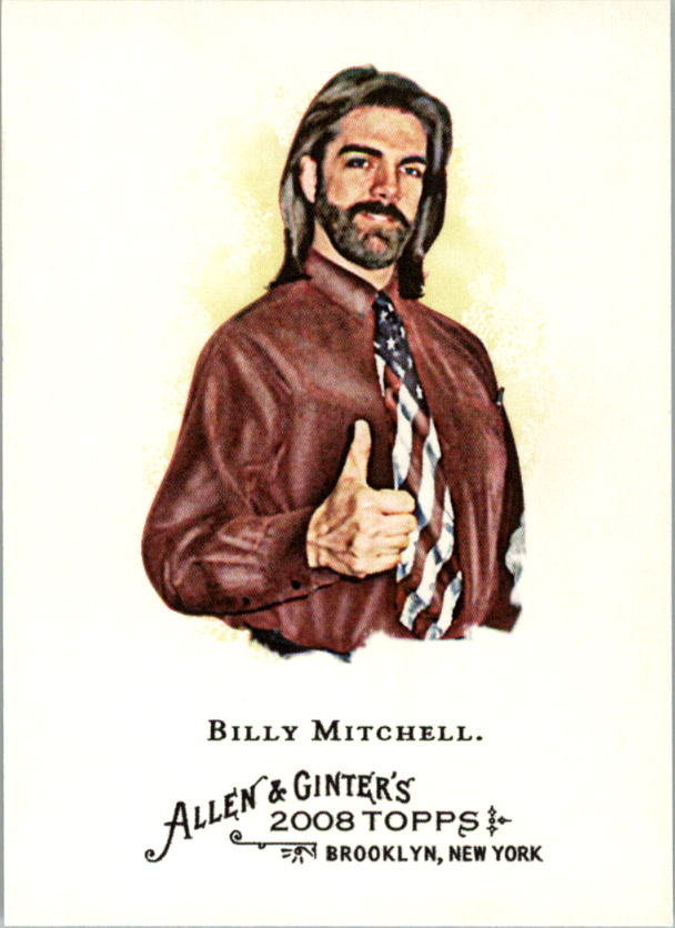 2008 Topps Allen and Ginter #119 Billy Mitchell