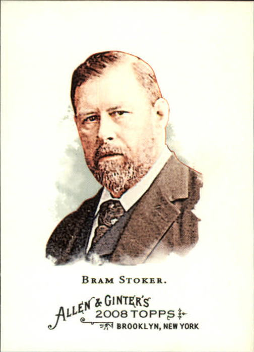 2008 Topps Allen and Ginter #166 Bram Stoker