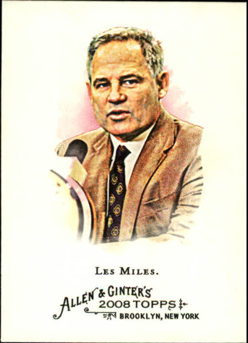 2008 Topps Allen and Ginter #187 Les Miles