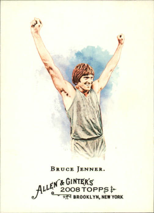 2008 Topps Allen and Ginter #208 Bruce Jenner