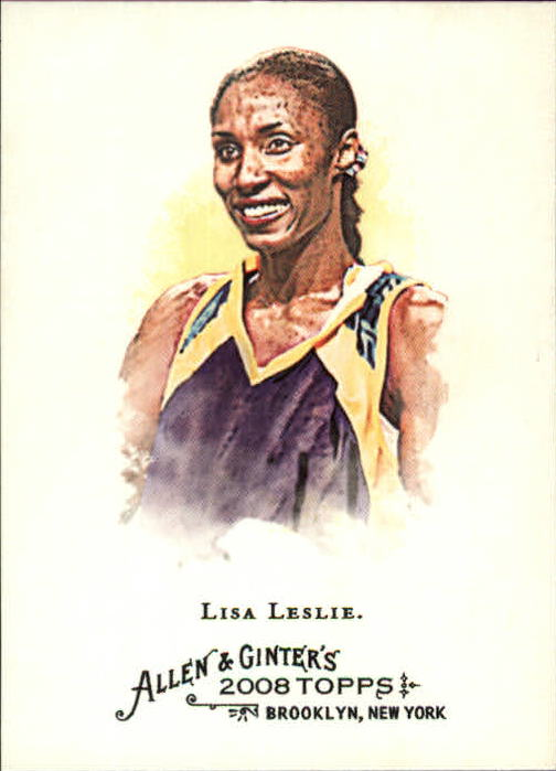2008 Topps Allen and Ginter #247 Lisa Leslie