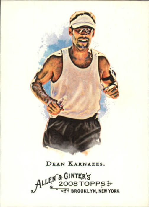 2008 Topps Allen and Ginter #268 Dean Karnazes