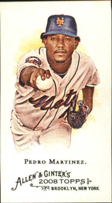 2008 Topps Allen and Ginter Mini #37 Pedro Martinez
