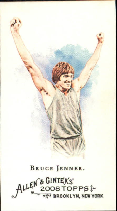2008 Topps Allen and Ginter Mini #208 Bruce Jenner