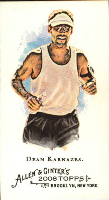 2008 Topps Allen and Ginter Mini #268 Dean Karnazes