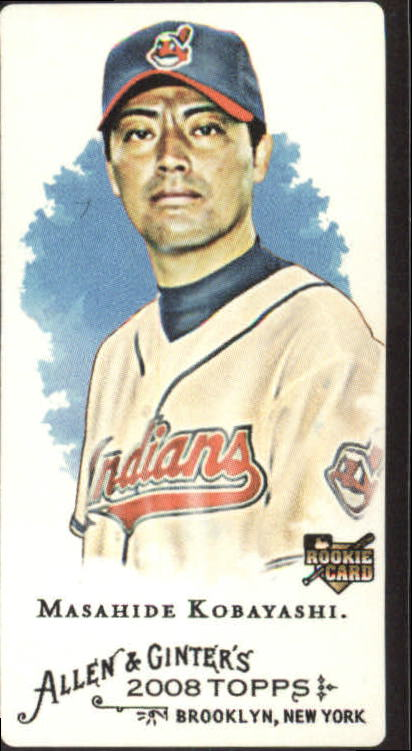 2008 Topps Allen and Ginter Mini Black #83 Masahide Kobayashi