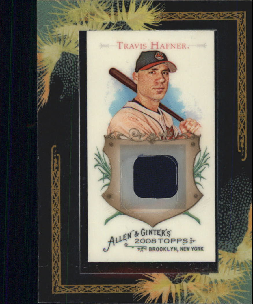 2008 Topps Allen and Ginter Relics #TPH Travis Hafner Jsy C
