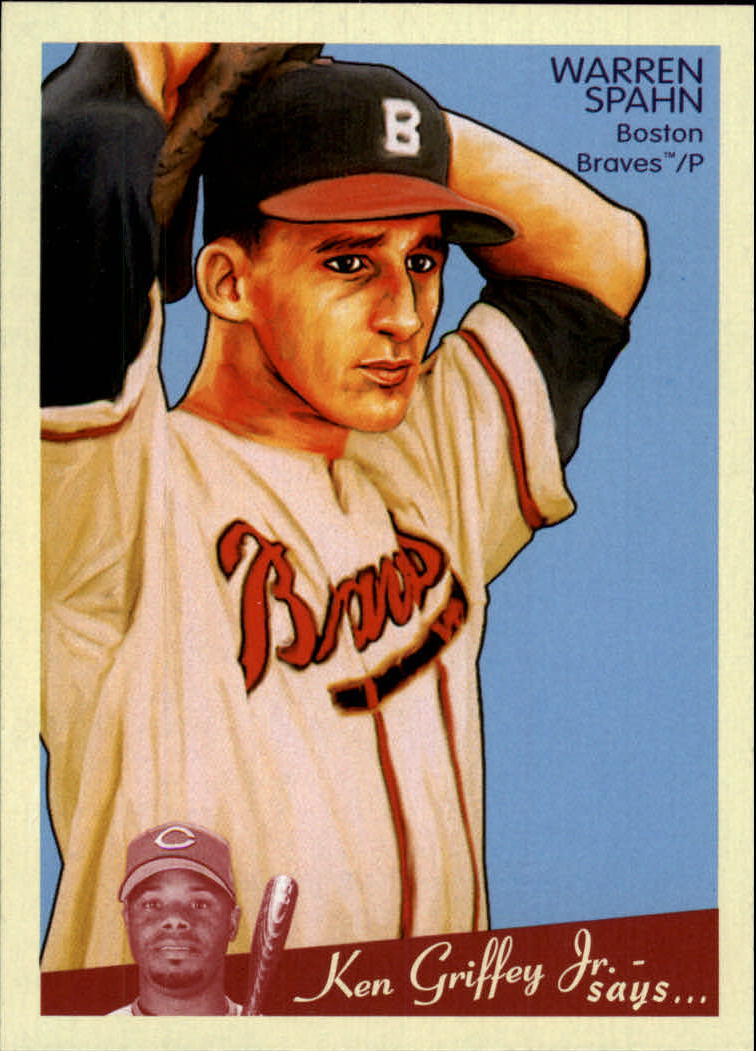 2008 Upper Deck Goudey #103 Warren Spahn