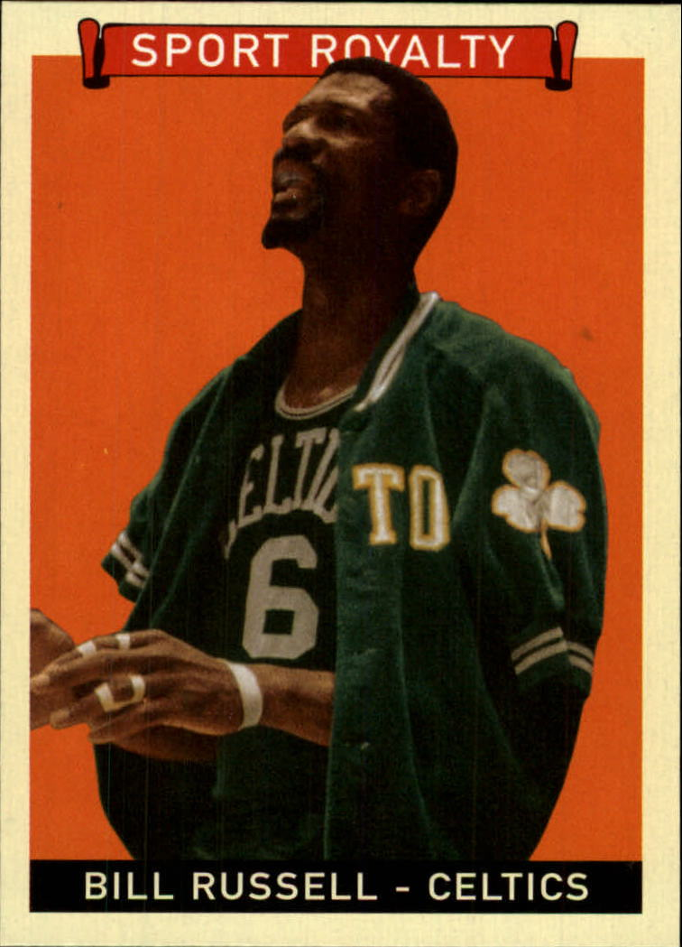 2008 Upper Deck Goudey #277 Bill Russell SR SP