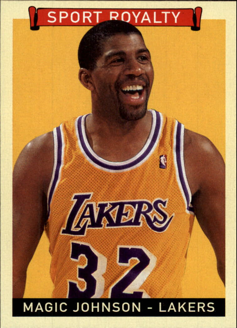 2008 Upper Deck Goudey #299 Magic Johnson SR SP