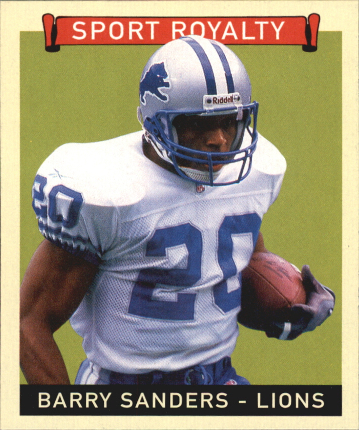 2008 Upper Deck Goudey Mini Black Backs #278 Barry Sanders SR