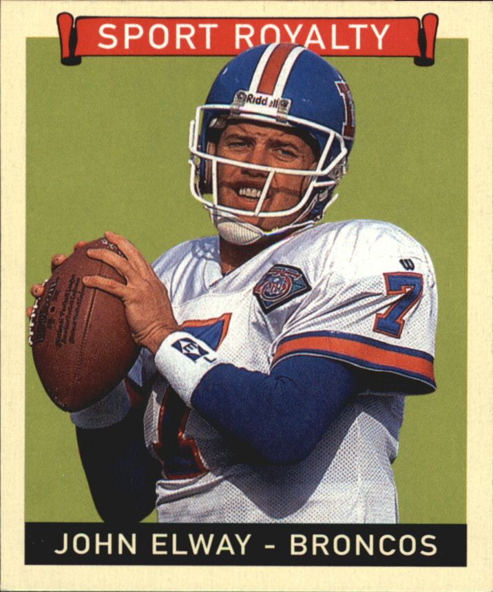 2008 Upper Deck Goudey Mini Black Backs #295 John Elway SR
