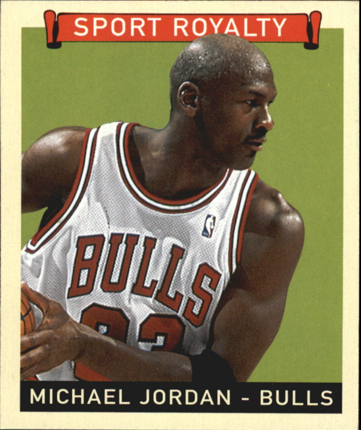 2008 Upper Deck Goudey Mini Black Backs #300 Michael Jordan SR