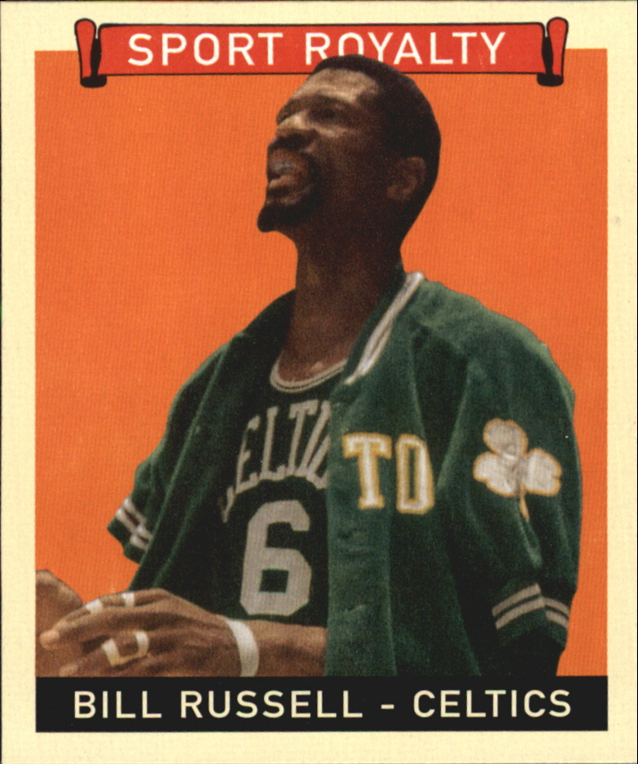 2008 Upper Deck Goudey Mini Red Backs #277 Bill Russell SR