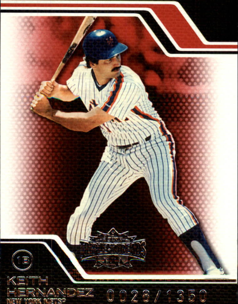2008 Topps Triple Threads #110 Keith Hernandez