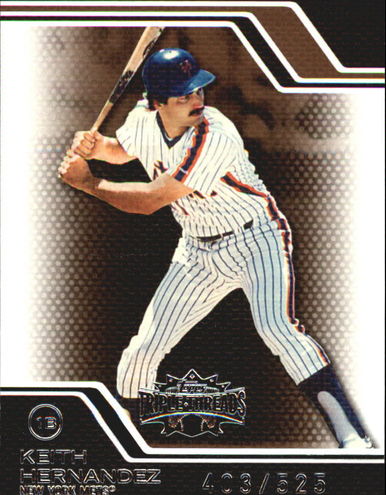 2008 Topps Triple Threads Sepia #110 Keith Hernandez