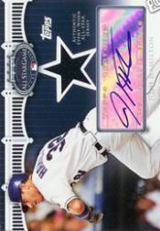 2008 Topps Update All-Star Stitches Autographs #JH Josh Hamilton