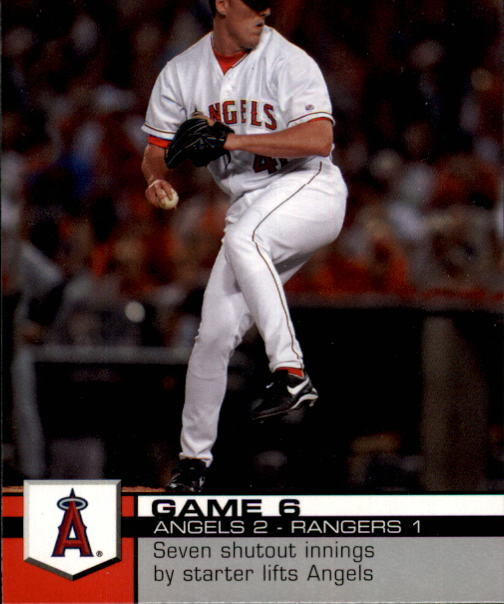 2008 Upper Deck Documentary #6 John Lackey
