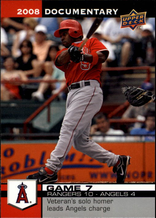2008 Upper Deck Documentary #7 Chone Figgins