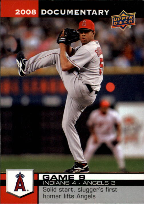 2008 Upper Deck Documentary #9 Francisco Rodriguez