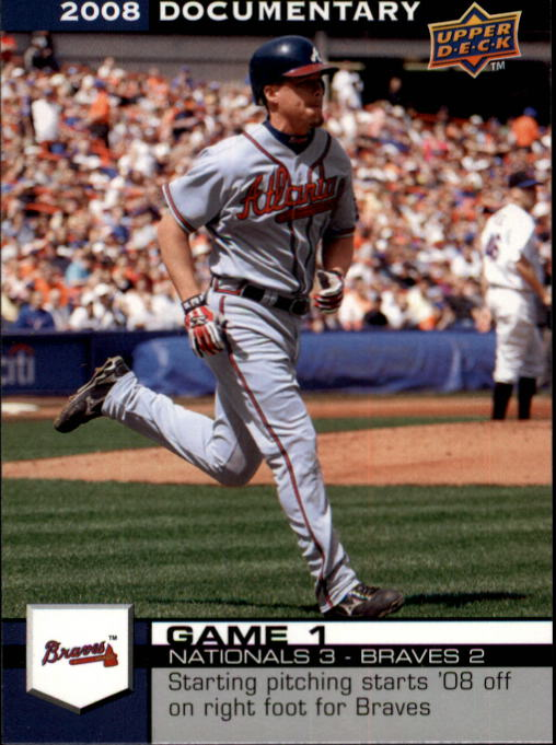 2008 Upper Deck Documentary #21 Chipper Jones
