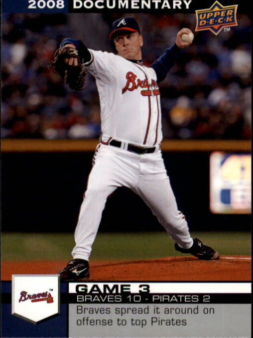 2008 Upper Deck Documentary #23 Tom Glavine